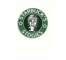 Starbuck's Stogies Art Print