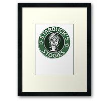 Starbuck's Stogies Framed Print