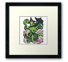 Wizard of Oz wicked Witch Octopus  Framed Print