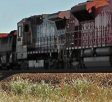 Iron Ore Train-The Pilbara by caz60B