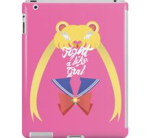 FIGHT LIKE A GIRL  iPad Case/Skin