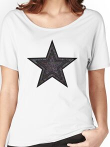 Black Star Women's Relaxed Fit T-Shirt