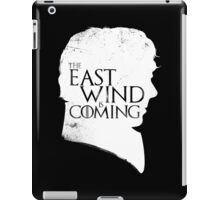 The East Wind Is Coming (White) iPad Case/Skin