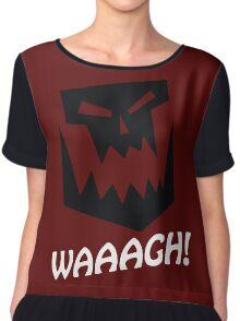 Waaagh ! Warhammer 40k T Shirt Chiffon Top