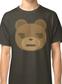 Emoji Teddy Bear Questionable Look Classic T-Shirt
