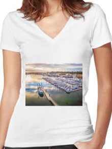 North Havern Mariner Women's Fitted V-Neck T-Shirt
