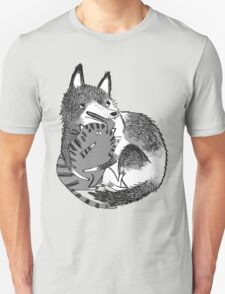 husky loves kitty T-Shirt