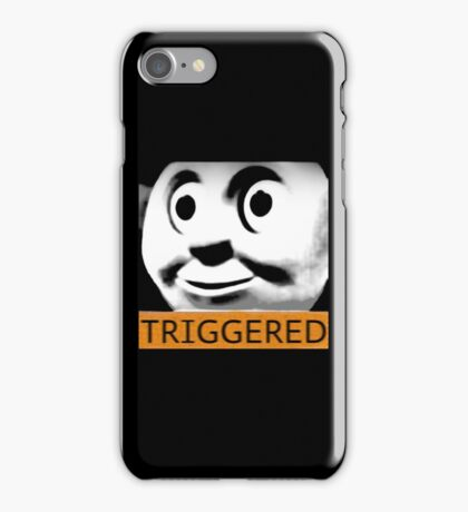 Thomas the Train (TRIGGERED) iPhone Case/Skin