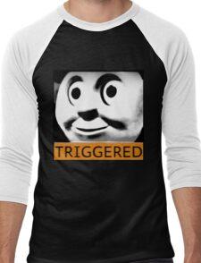Thomas the Train (TRIGGERED) Men's Baseball ¾ T-Shirt
