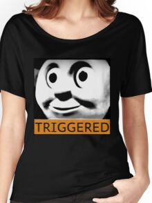 Thomas the Train (TRIGGERED) Women's Relaxed Fit T-Shirt