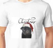 Christmas Pug - Hugo Unisex T-Shirt