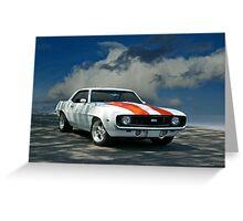 1969 Chevrolet Camaro SS LS1 Greeting Card