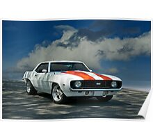 1969 Chevrolet Camaro SS LS1 Poster
