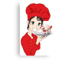 Best Chef for Christmas Canvas Print