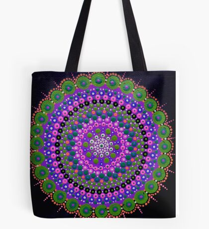 Purple Zen Tote Bag