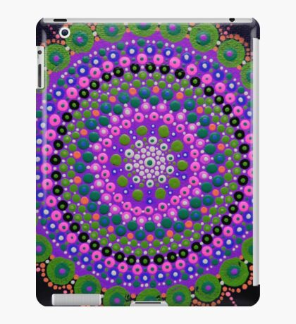 Purple Zen iPad Case/Skin