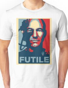 'Futile' (Obama style) T-shirt Unisex T-Shirt