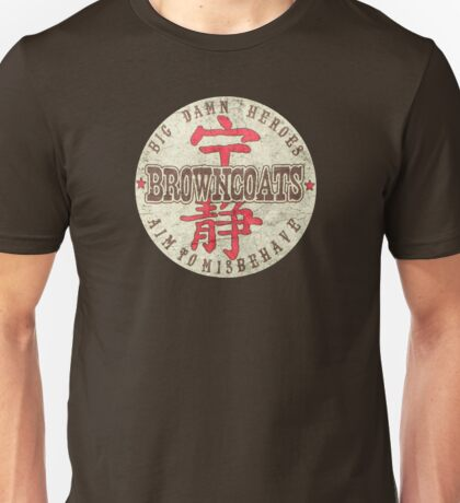 Firefly Big Damn Heroes Unisex T-Shirt