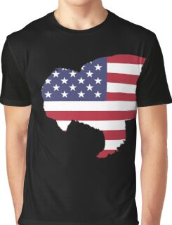 American Flag – Bison Graphic T-Shirt