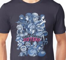SUPER SMASH SISTERS Unisex T-Shirt