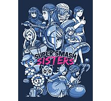 SUPER SMASH SISTERS Photographic Print