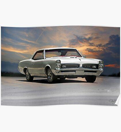 1968 Pontiac GTO Poster