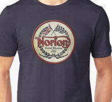 Norton British Machines retro vintage logo Unisex T-Shirt