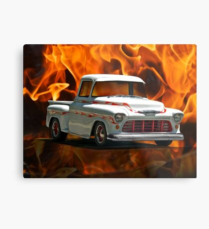 1956 Chevrolet 'Apache' Pickup Truck Metal Print