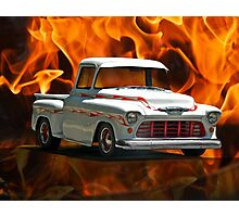 1956 Chevrolet 'Apache' Pickup Truck Photographic Print