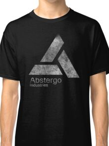 °GEEK° Abstergo Industries B&W Logo Classic T-Shirt