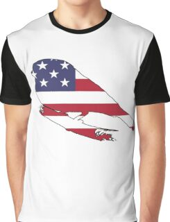 American Flag – Finch Graphic T-Shirt