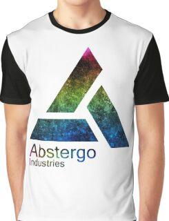 °GEEK° Abstergo Industries Rainbow Logo Graphic T-Shirt
