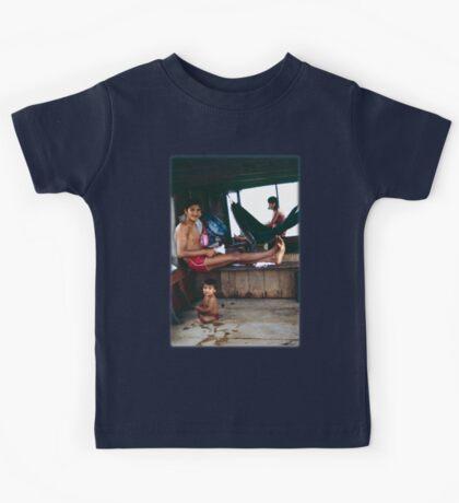 The Amazon Houseboat Kids Tee