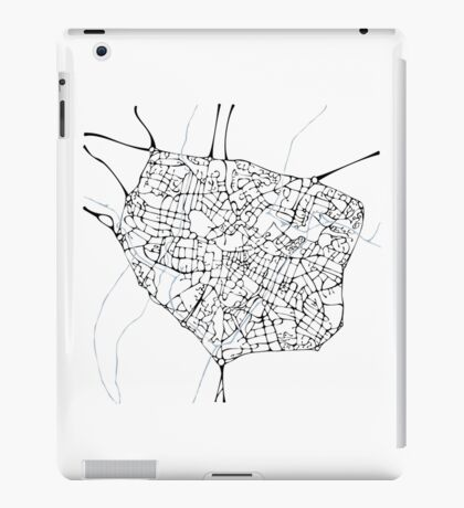Birmingham (blue) iPad Case/Skin
