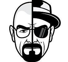 Two faces of Hesinberg - Breaking Bad by janeemanoo