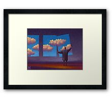 The Sky Collector Framed Print