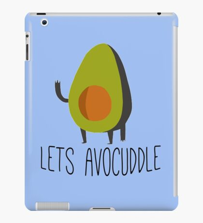 Lets Avocuddle! iPad Case/Skin