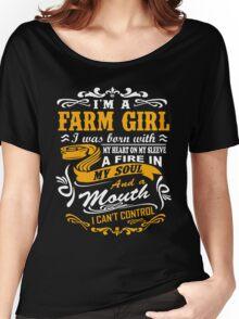 I'm a farm girl T-shirt Women's Relaxed Fit T-Shirt