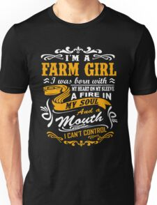 I'm a farm girl T-shirt Unisex T-Shirt