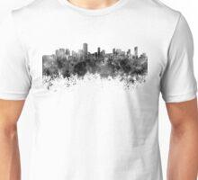 Salvador de Bahia skyline in black watercolor on white background Unisex T-Shirt