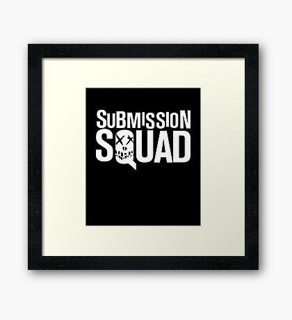 Submission Squad (Brazilian Jiu Jitsu / BJJ) Framed Print