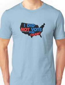 I DEFINITELY DID NOT VOTE FOR TRUMP T-Shirt