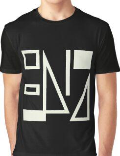 True Colours Split Enz [white on black] Graphic T-Shirt