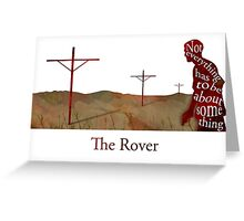 The Rover Greeting Card