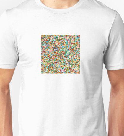 Colored Sugar – Clock 8 - Living Hell Unisex T-Shirt