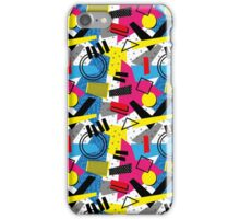 Back To The 80's Design iPhone Case/Skin