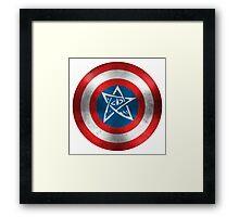 Captain Arkham Framed Print