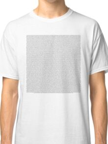 every song/lyric off No Phun intended (Tyler Joseph) Classic T-Shirt