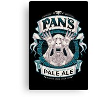 Pan's Pale Ale (variant) Canvas Print