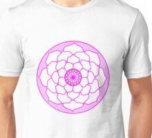 Pink Lotus Flower Mandala Unisex T-Shirt